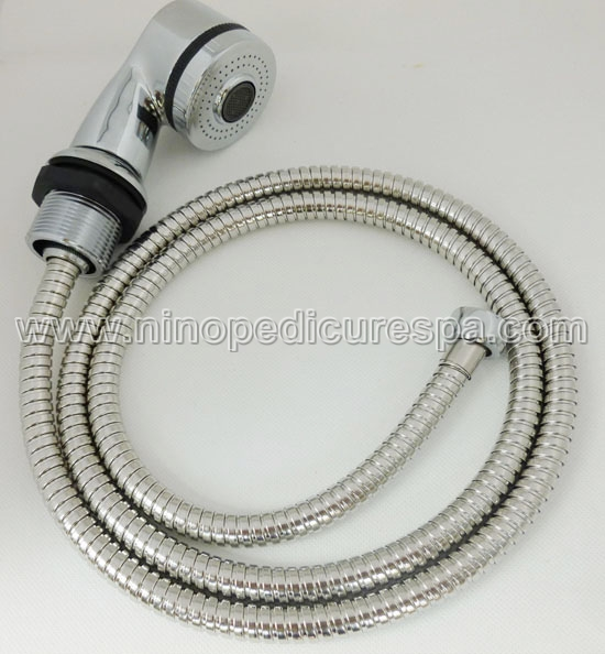 pedicure spa sprayer with holder and hose